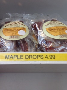 Tasty Maple dropps!